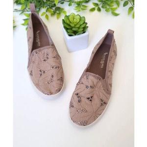 Uggs Koolaburra Amiah Floral Slip-On Sneaker Sz 1